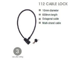 SQUIRE Cable Lock 112