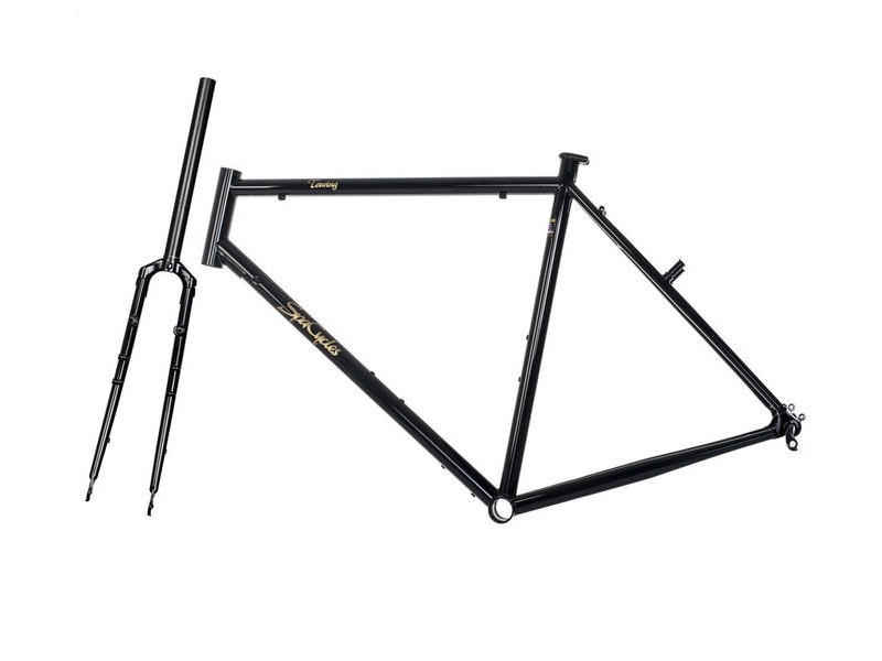 SPA CYCLES Steel Tourer Frame and forks. click to zoom image