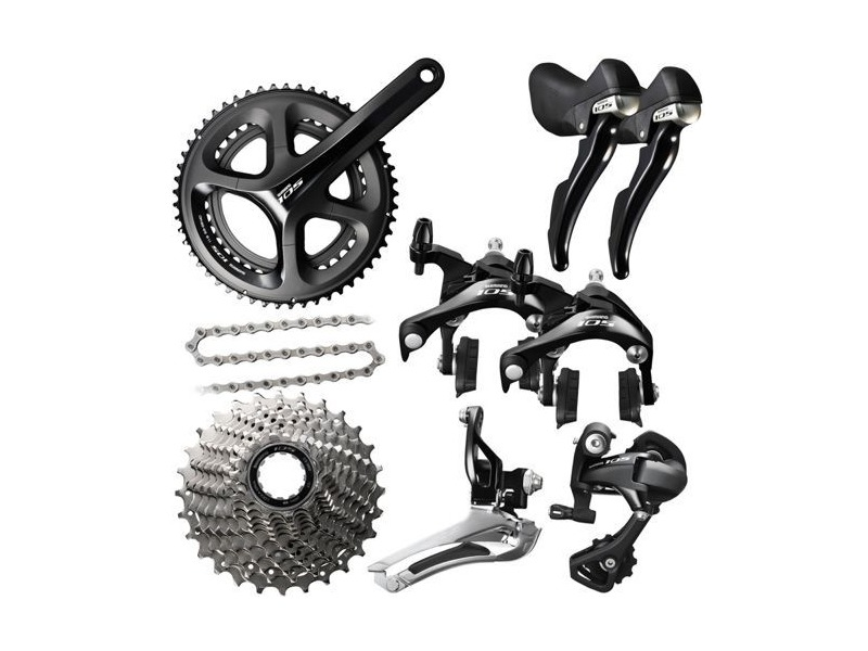 SHIMANO 105 (5800) 11 Speed Groupset 50/34 click to zoom image