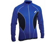LUSSO Breathe Long Sleeve Jersey M Blue  click to zoom image