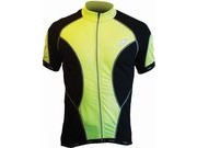 LUSSO CoolLite Short Sleeve Jersey M Yellow  click to zoom image
