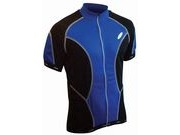 LUSSO CoolLite Short Sleeve Jersey M Blue  click to zoom image
