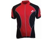 LUSSO CoolLite Short Sleeve Jersey S Red  click to zoom image