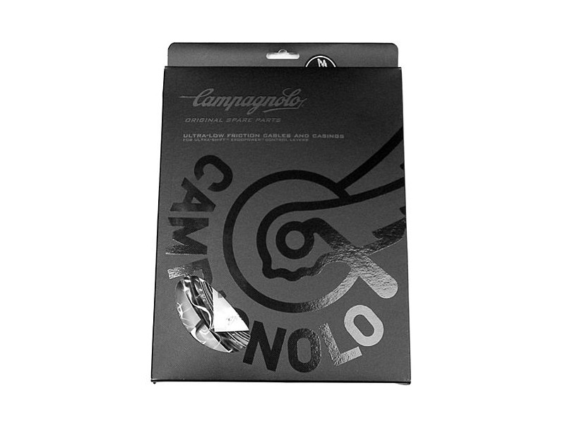 CAMPAGNOLO Ergopower Cable Set - Red/White click to zoom image