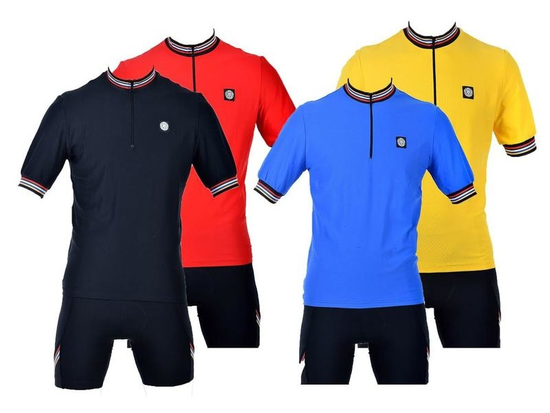 TUDOR SPORTS TS555 Short Sleeved Road Jersey click to zoom image