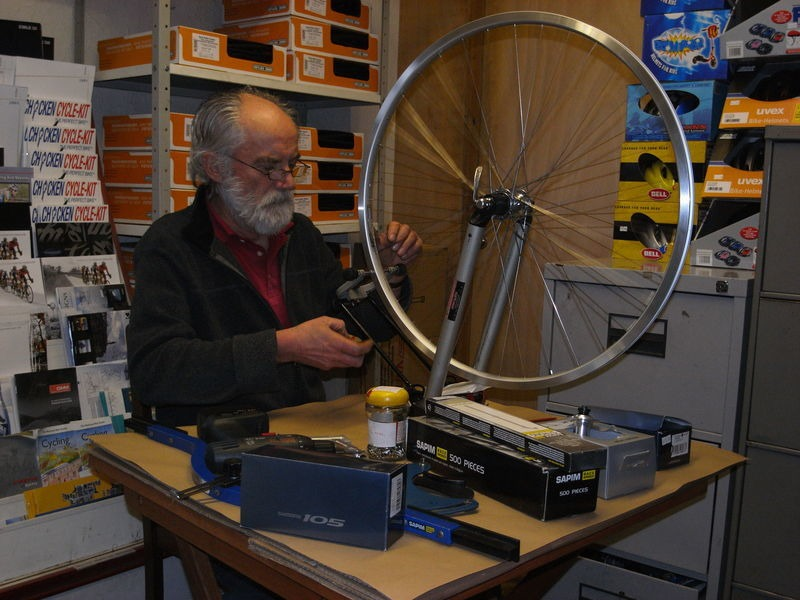 SPA CYCLES Handbuilt Wheel Front, Choice of rim/Ultegra hub click to zoom image