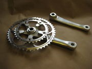 SPA CYCLES XD-2 Touring Double Chainset with TA chainrings click to zoom image