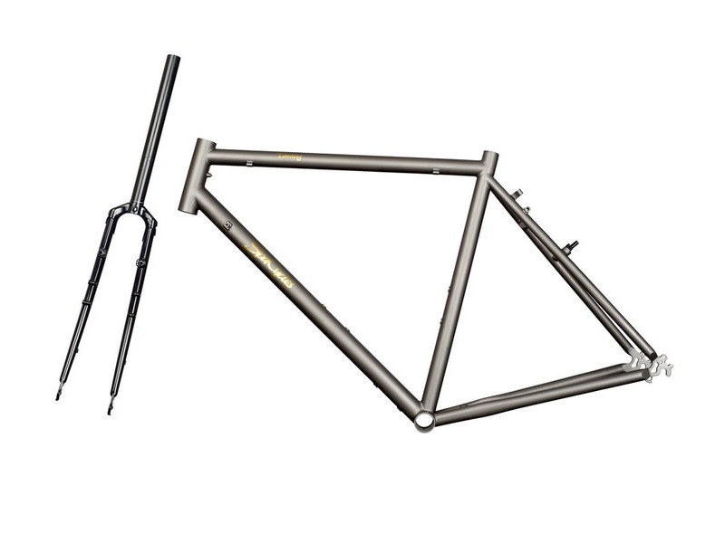 SPA CYCLES Ti Touring Frame and forks. click to zoom image