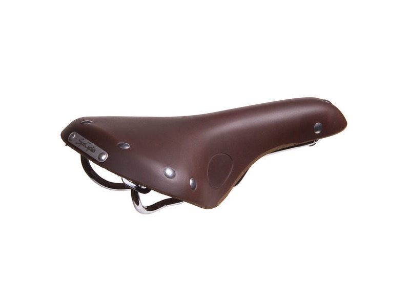 SPA CYCLES Wharfe Leather Saddle click to zoom image