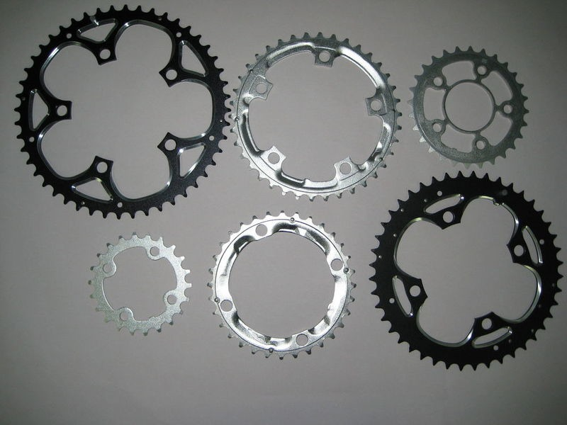 SPA CYCLES Alloy Chainrings click to zoom image
