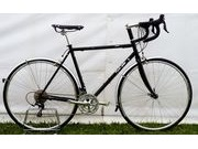 SPA CYCLES Steel Audax (Shimano 105 Triple) 52cm Gloss Black  click to zoom image