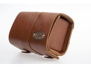 SPA CYCLES Loxley Leather Saddle Bag  Honey  click to zoom image