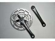 SPA CYCLES TD-2 Touring Triple Chainset with Zicral Rings click to zoom image