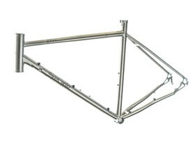 SPA CYCLES Titanium Elan Frame/Forks/Headset