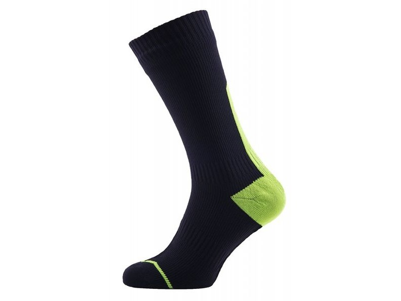 SEALSKINZ Road Thin Mid Waterproof Socks click to zoom image