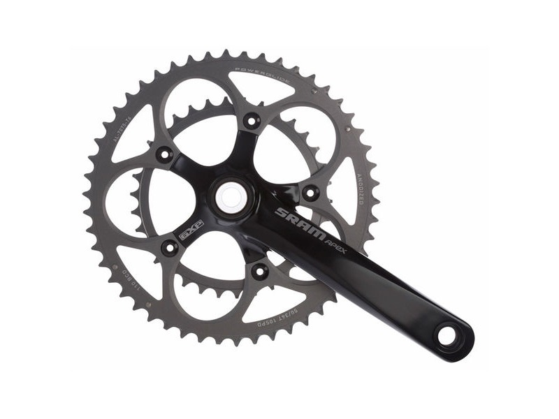 SRAM Apex Double Chainset click to zoom image