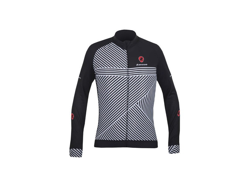 LUSSO Stripes Long Sleeved Jersey click to zoom image